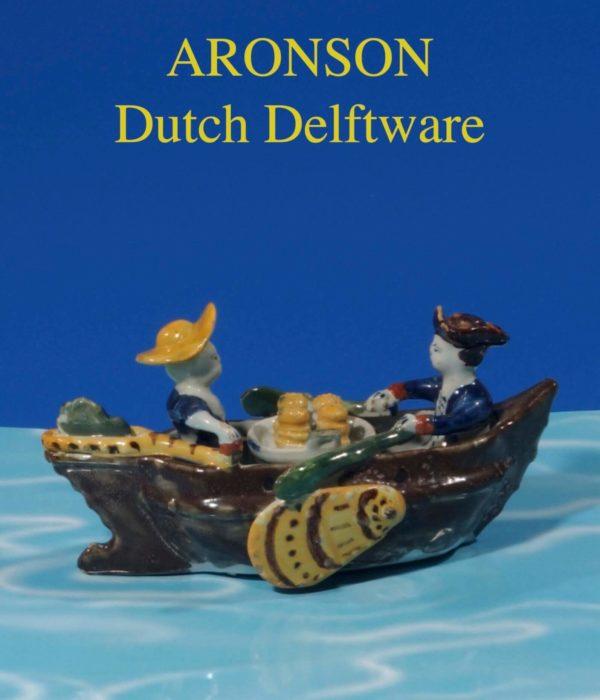 Cover Dutch Delftware Aronson 2003