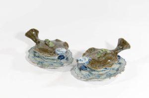 Antique Ceramic Of Dutch Delftware