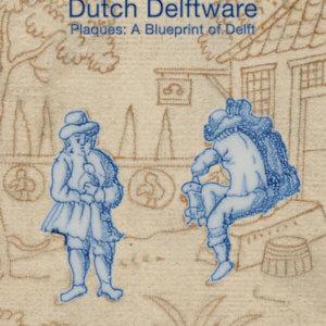 Dutch Delftware. Plaques: A Blueprint Of Delft