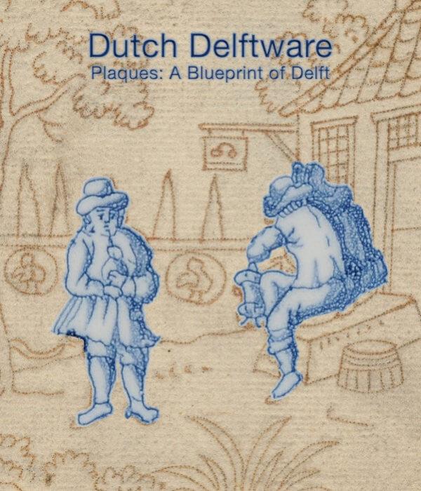 Book about Dutch Delftware Plaques