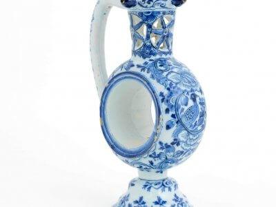 Antique Delft Ceramic Pottery Of Puzzle Jug Aronson Antiquairs