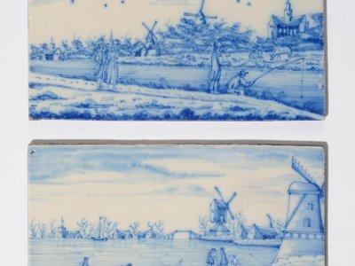 Dutch Delft Pottery Of Plaques