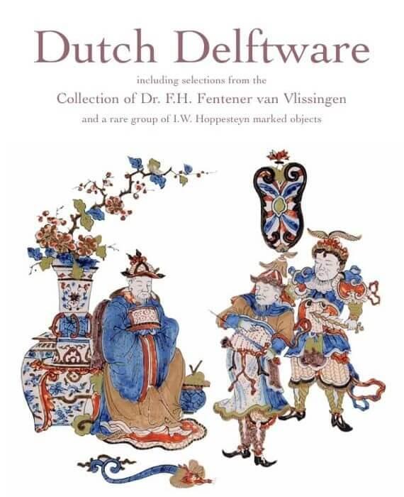 Dutch Delftware collections of Fentener van Vlissingen