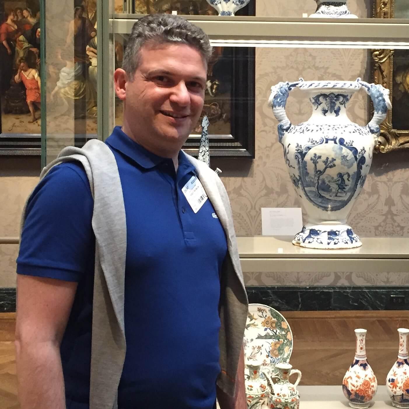 Robert Aronson in Boston Museum of Fine Art (MFA)