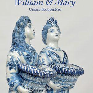 Dutch Delftware, William & Mary, Unique Bouquetières