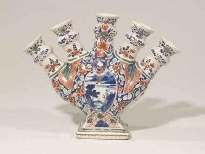 D0520. Cashmire Palette Tulip Vase