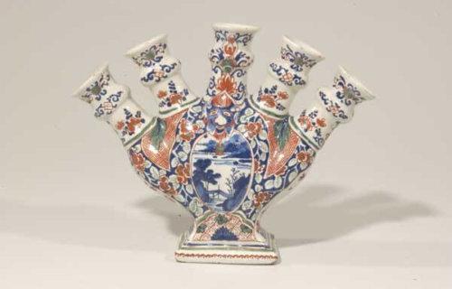 Cashmire Palette Tulip Vase At Aronson Antiquairs