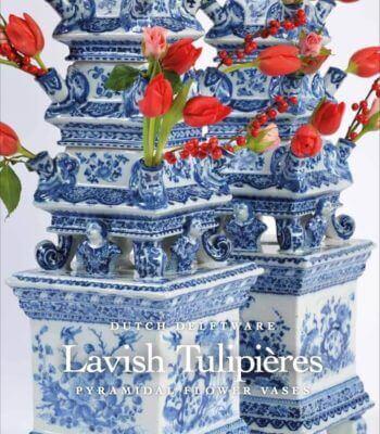Lavish Tulipières, Pair Of Pyramidal Flower Vases