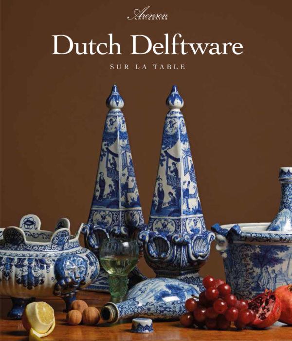 Dutch Delftware sur la table