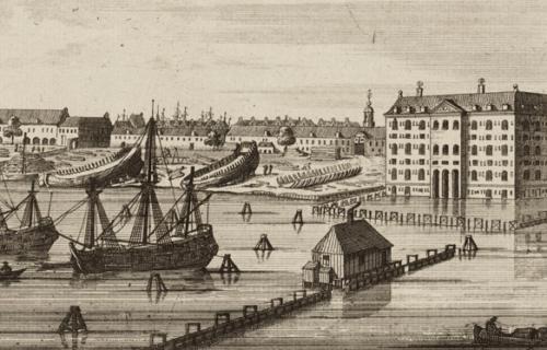 Ets Pieter Schenk,'s Lands Zeemagazijn En De Admiraliteitswerf Op Kattenburg