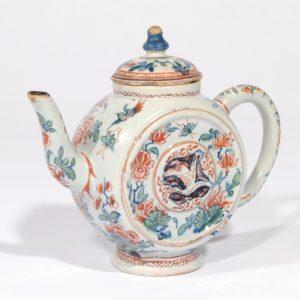 D0937. Cashmire Palette Teapot And Cover