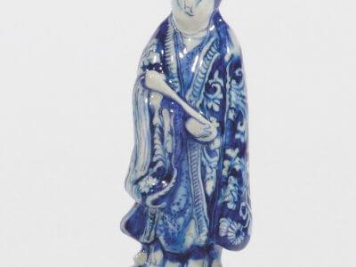 Chinoiserie Figurine Of Oriental Lady Marken By Lambertus Van Eenhoorn