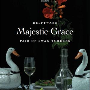 Majestic Grace, Pair Of Swan Tureens