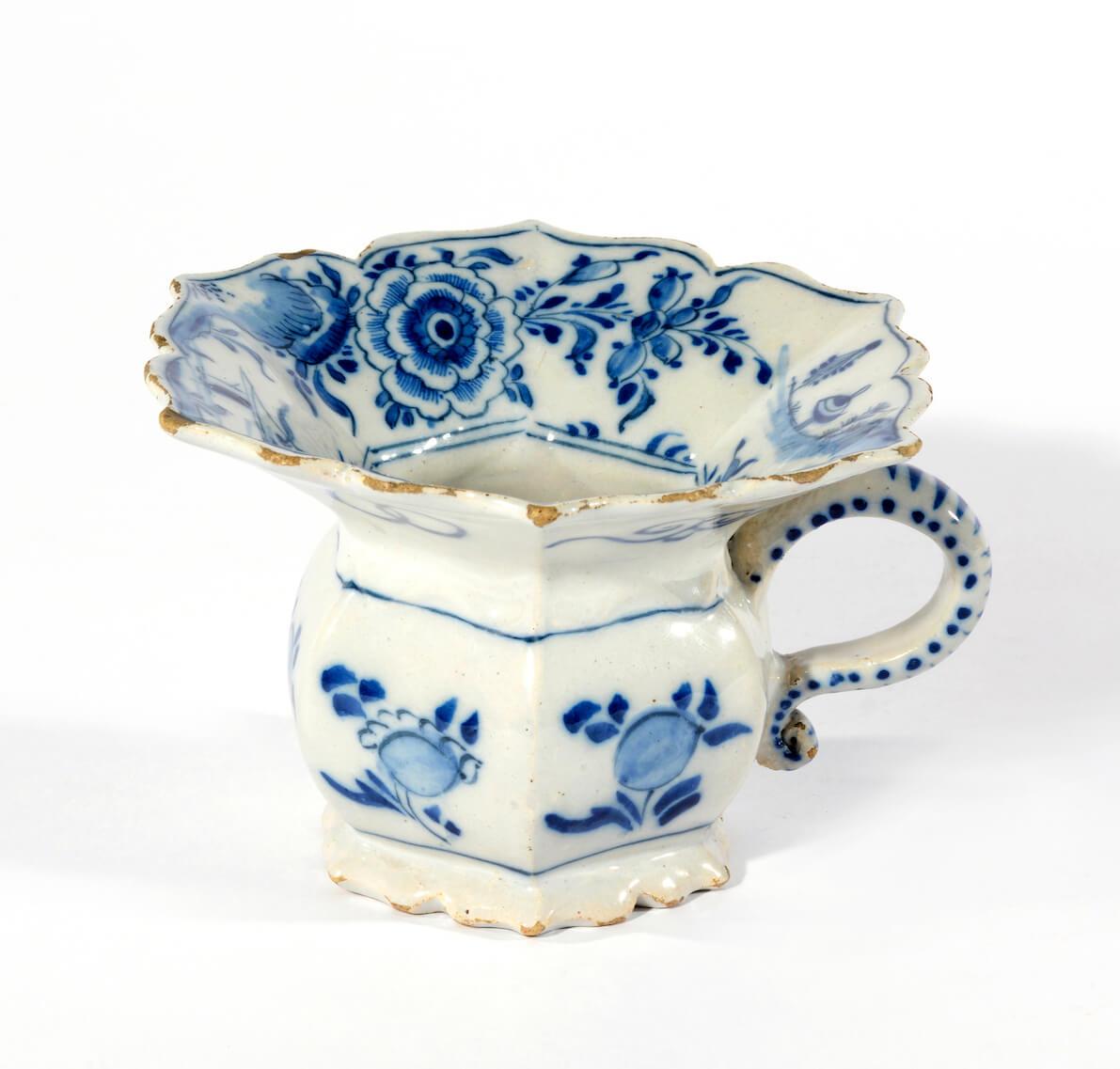 Ceramic Delftware Cuspidor Aronson Antiquairs
