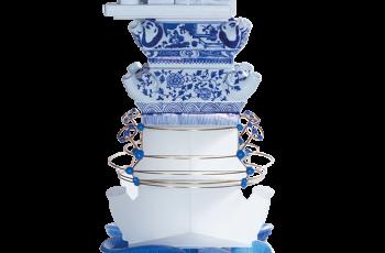 Dutch Design Week: Jing He Reinterprets The Iconic Delftware Flower Vase