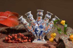 Cashmere Palette Flower Vase
