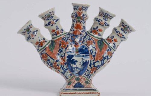 Antique Flower Vase Cashmere Palette At Aronson Antiquairs