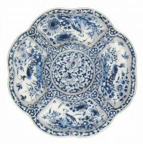 Sweetmeat Dish By De Grieksche A, Adrianus Kocx At Aronson Antiquairs