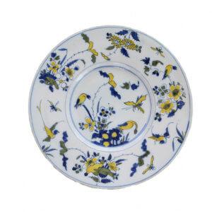 1223. Polychrome Plate