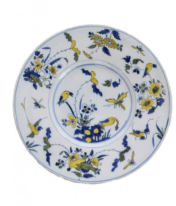 1244 – Polychrome Plate