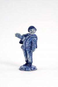 Ceramic Commedia Dell'Arte Figurine Aronson Antiquairs