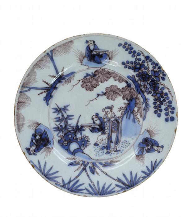 antique manganese plate Aronson Antiquairs