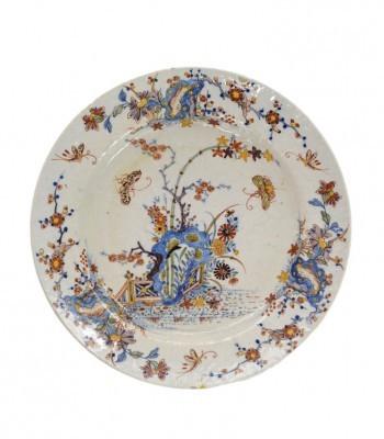 D1330. Polychrome Plate