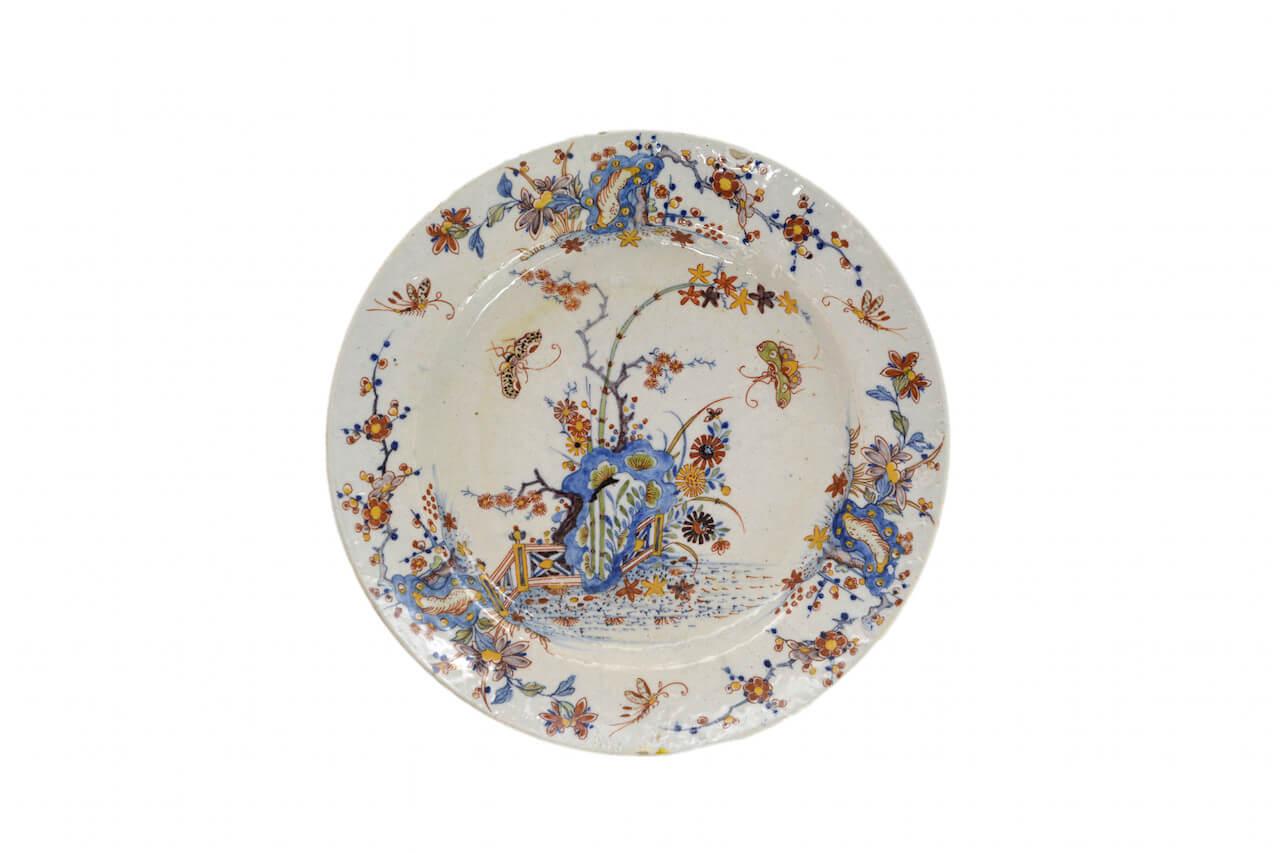 1330 Polychrome Plate
