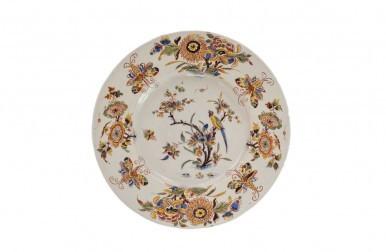 1331. Polychrome Plate