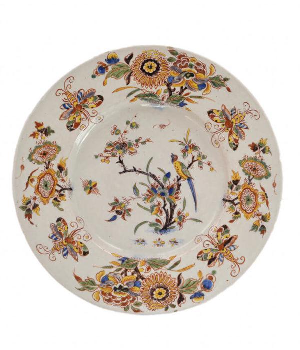 Aronson Antiquairs Polychrome plate