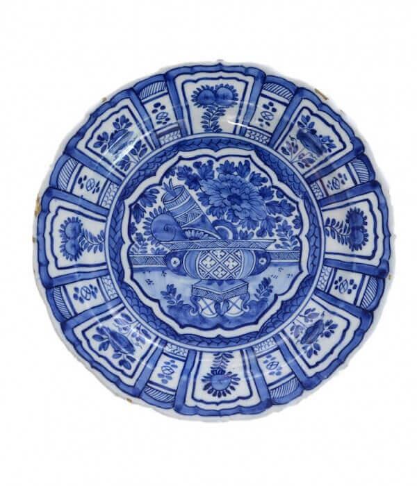 Antique kraak plate Aronson Antiquairs