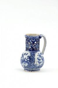 Antique Delftware Puzzle Jug