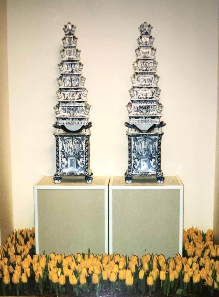 Delftware Vases TEFAF 1995