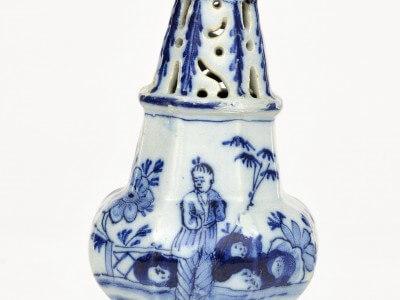 Antique Delftware Sugar Caster