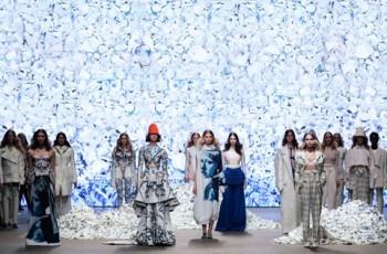 Fashion Design : Tess Van Zalinge X Royal Delft