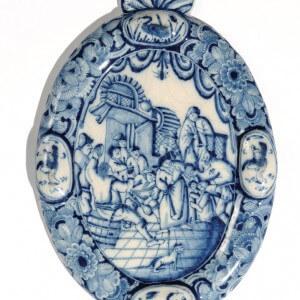 Delftware Plaque For Wall Suspension
