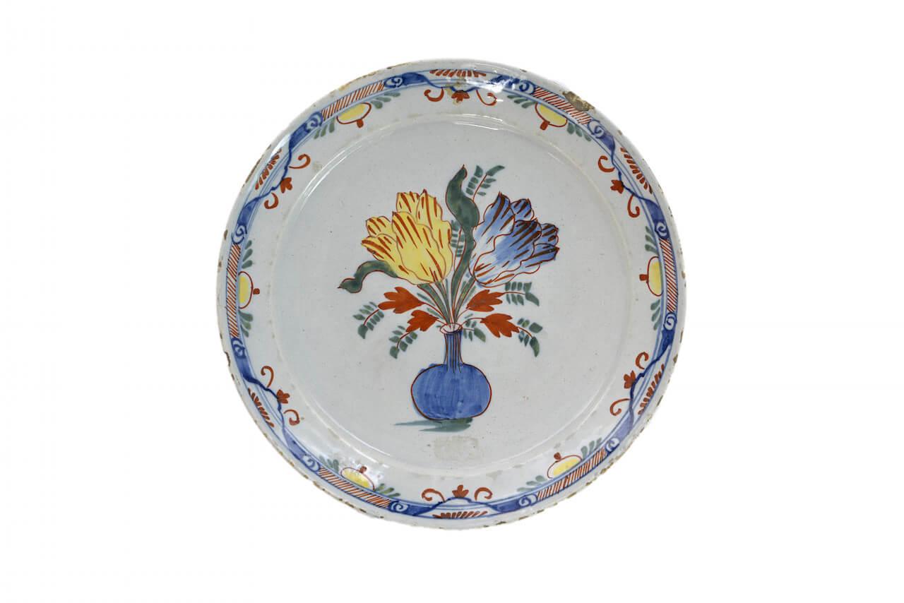 0029 – Polychrome Plate