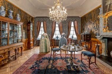 Royal Visit At The Princessehof, Leeuwarden