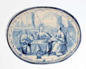 Antique Polychrome Delftware