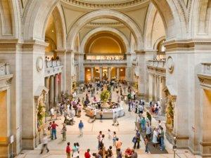 Interior Metropolitan Museum Of Art New York