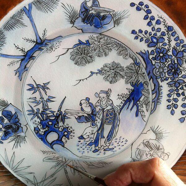 Making Of Ceramic Delftware
