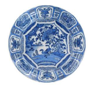 Antique Plates Aronson Delftware