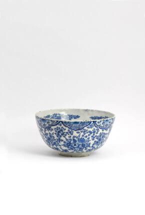 Delft Blue Ceramic Large Bowl Aronson