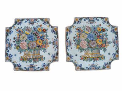 Antique Delftware Plaques