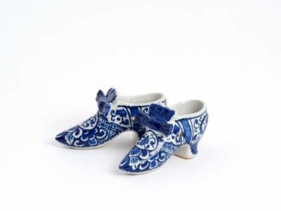 Aronson Antiquairs Delftware Antique Shoes