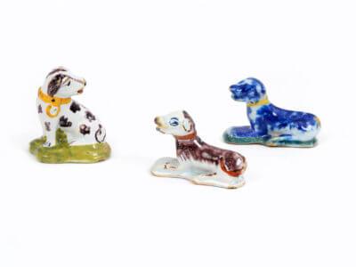 Figurines Dogs Polychrome Aronson