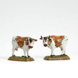 Antique Cows Polychrome