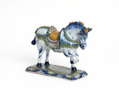 Aronson Antiquairs Unicorn Polychrome Figure
