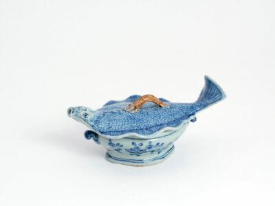 Delftware Blue Polychrome Form