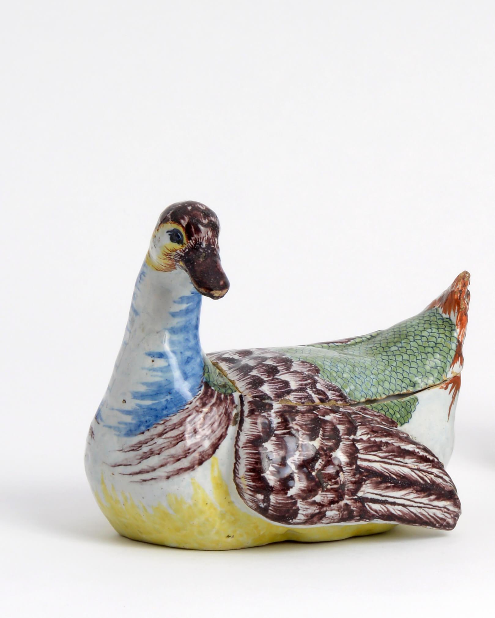 Aronson Antiquairs polychrome duck